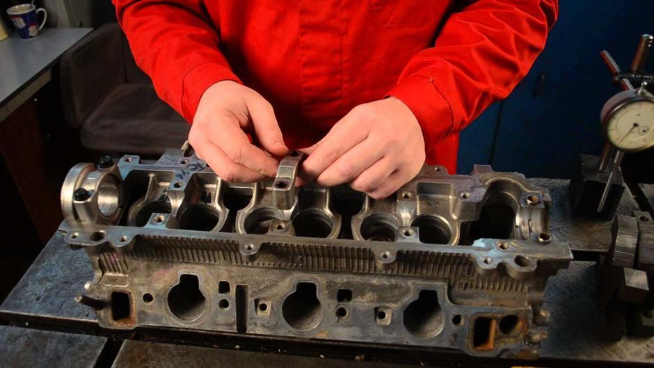 Ремонт двигателя aar своими руками